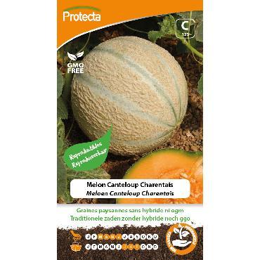 Protecta - Graines paysannes Melon Canteloup Charentais