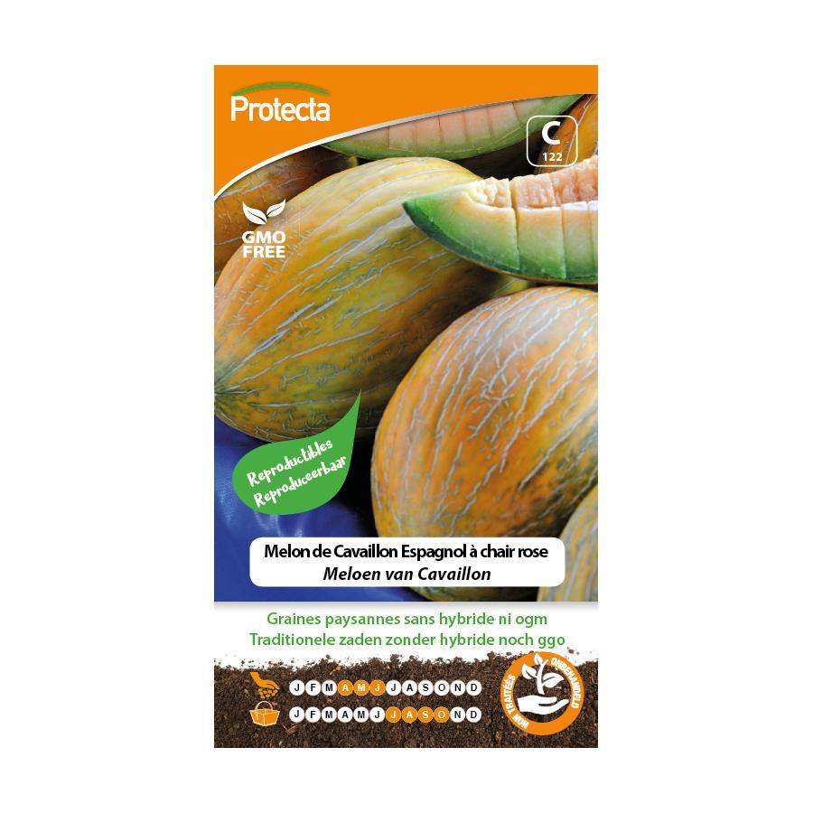 Protecta - Graines paysannes Melon De Cavaillon Espagnol À Chair Rose