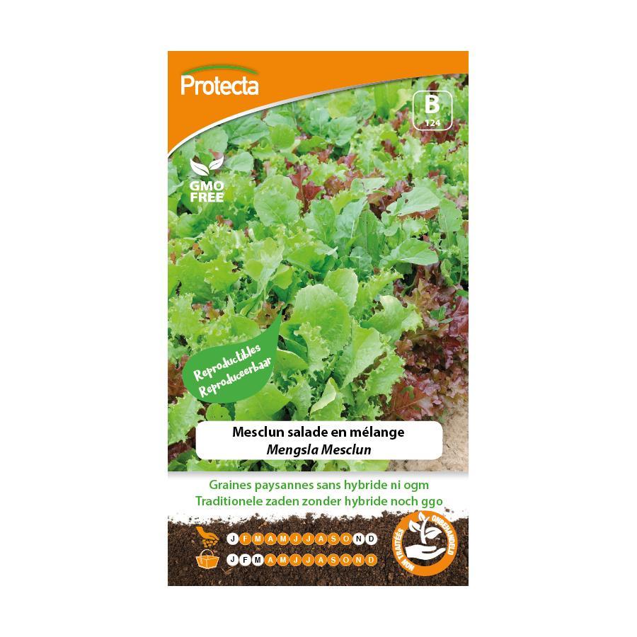 Protecta - Graines paysannes Mesclun Salade En Mélange