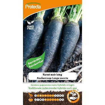 Protecta - Graines paysannes Navet Noir Long
