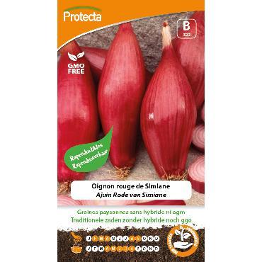 Protecta - Graines paysannes Oignon Rouge De Simiane
