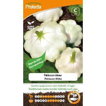 Protecta - Graines paysannes Pâtisson Blanc