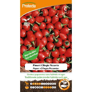 Protecta - Graines paysannes Piment Ciliegia Piccante