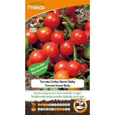 Protecta - Graines paysannes Tomate Cerise Sweet Baby