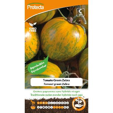 Protecta - Graines paysannes Tomate Green Zebra