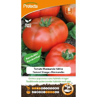 Protecta - Graines paysannes Tomate Marmande Hâtive
