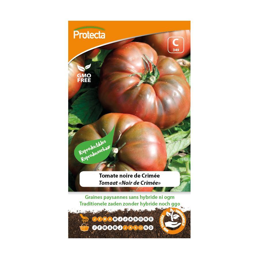 Protecta - Graines paysannes Tomate Noire De Crimée