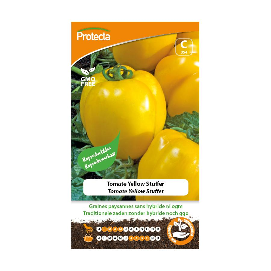 Protecta - Graines paysannes Tomate Yellow Stuffer