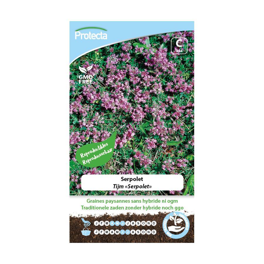Protecta - Graines paysannes Serpolet