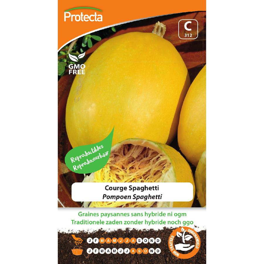 Protecta - Graines paysannes Courge Spaghetti