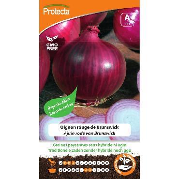 Protecta - Graines paysannes Oignon rouge de Brunswick