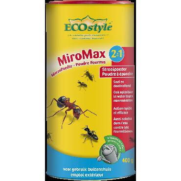 MiroMax 2 en 1 Poudre fourmis ECOstyle