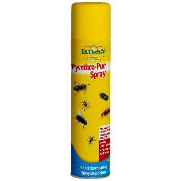 Pyrethro-Pur Spray contre insectes volants et rampants ECOstyle