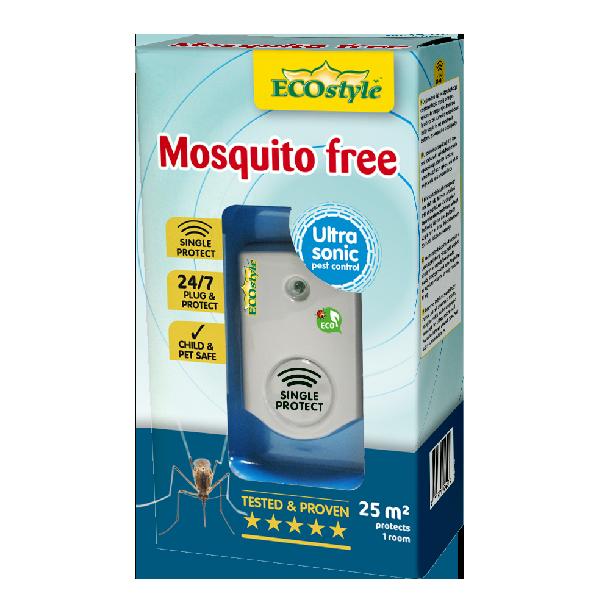 Répulsif à ultrasons moustiques free 25 m2