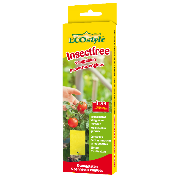 Insect free - petits panneaux englués