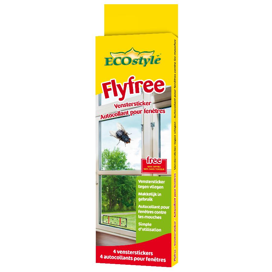 Fly free - autocollants pour fenêtres
