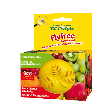 Fly free - plus de mouches à fruits