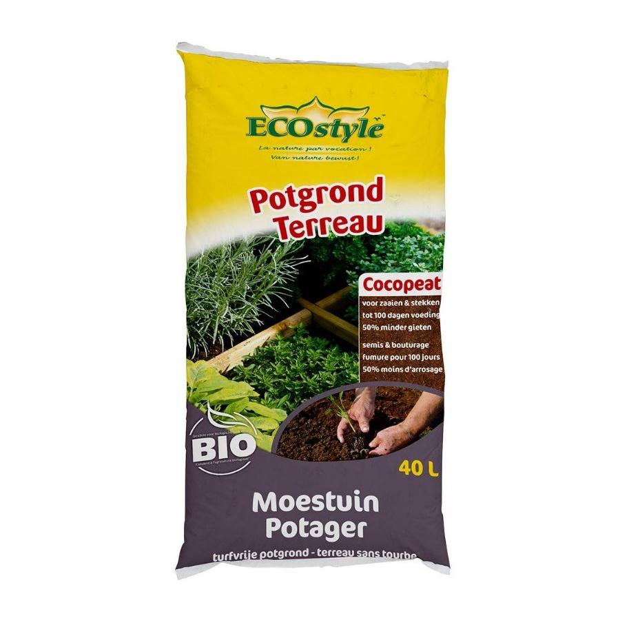 Terreau Cocopeat Potager ECOstyle