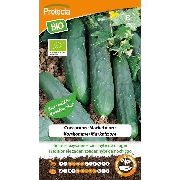 Protecta - Graines paysannes Concombre Marketmore BIO