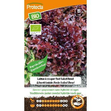 Protecta - Graines paysannes Laitue À Couper Red Salad Bowl BIO