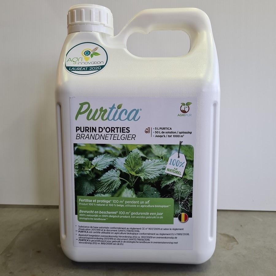 Purin d'Orties Purtica - Agripur 5L