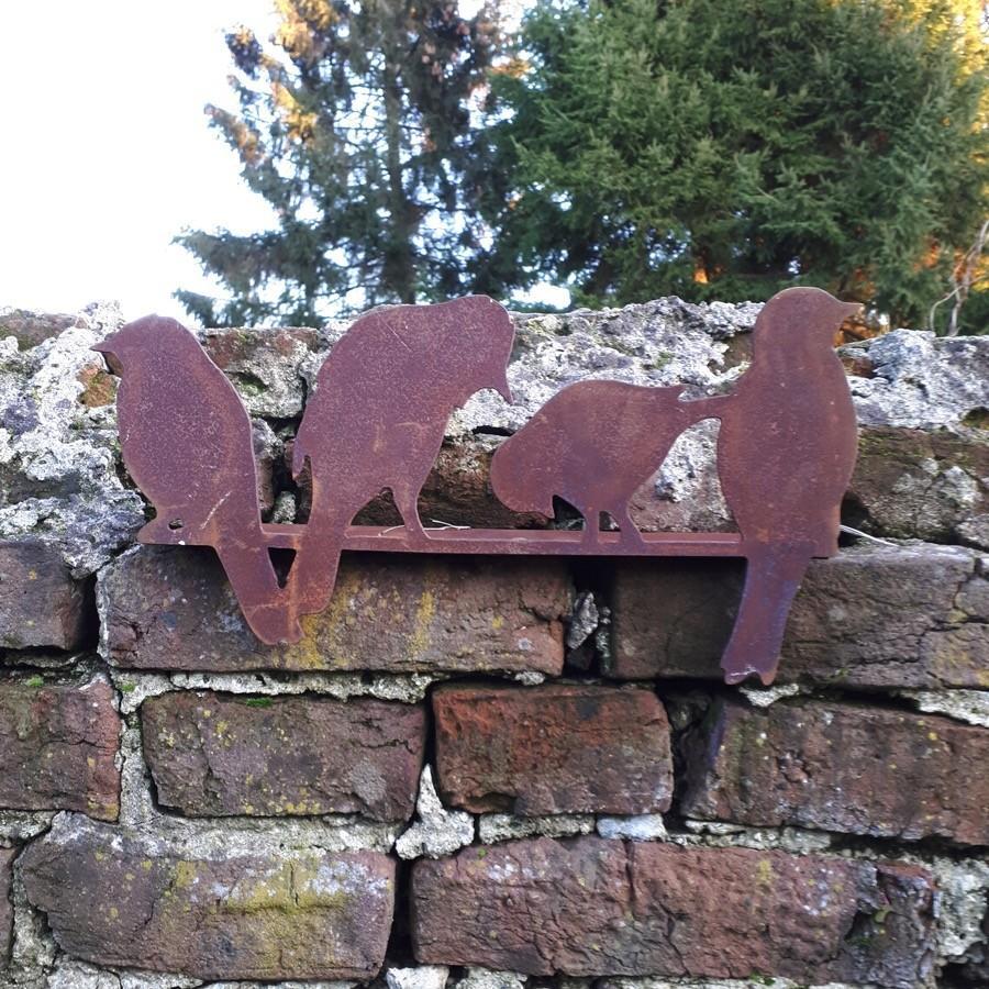 Famille d'oiseaux à poser