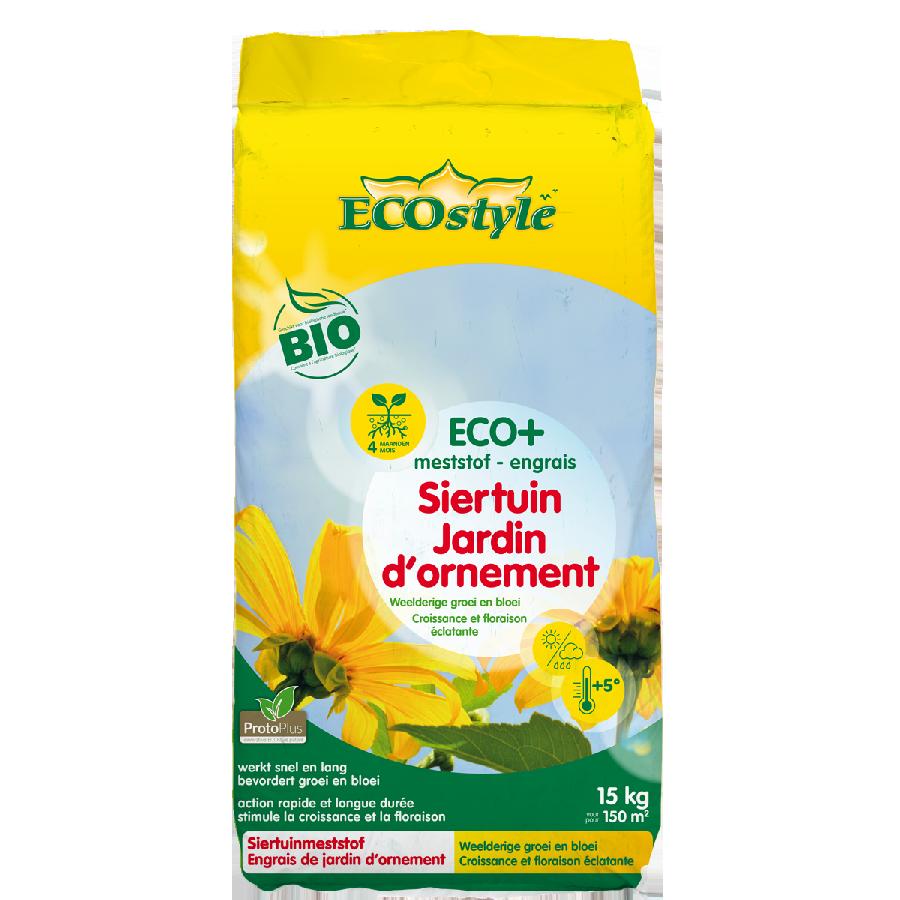 Engrais Jardin d'Ornement ECO+ ECOstyle