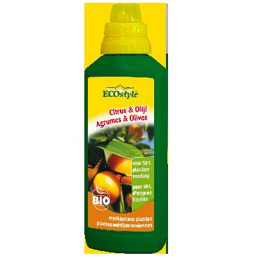 Engrais liquide Agrumes et Olives ECOstyle