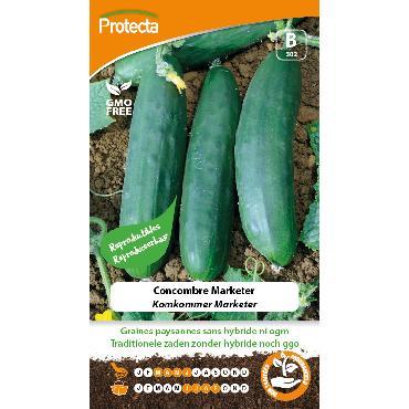 Protecta - Graines paysannes Concombre Marketer